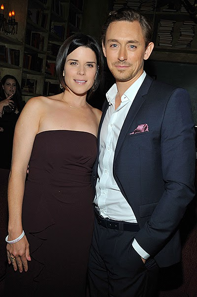 JJ Field and Neve Campbell