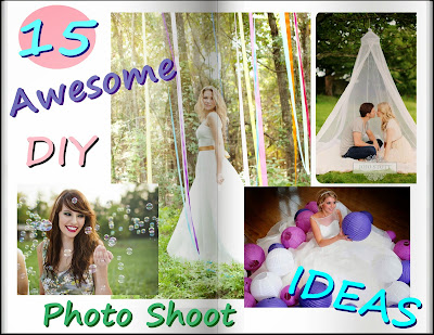 15 awesome diy photo shoot ideas and how to create professional photos at home