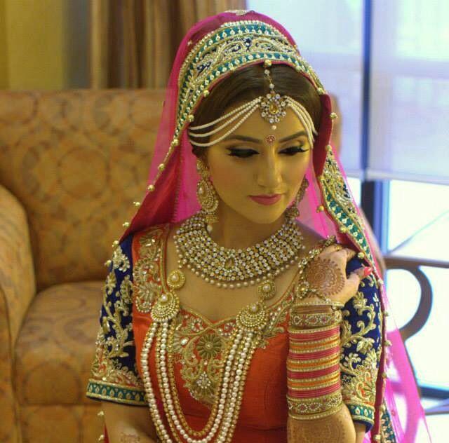 Bridal lehenga for wedding day