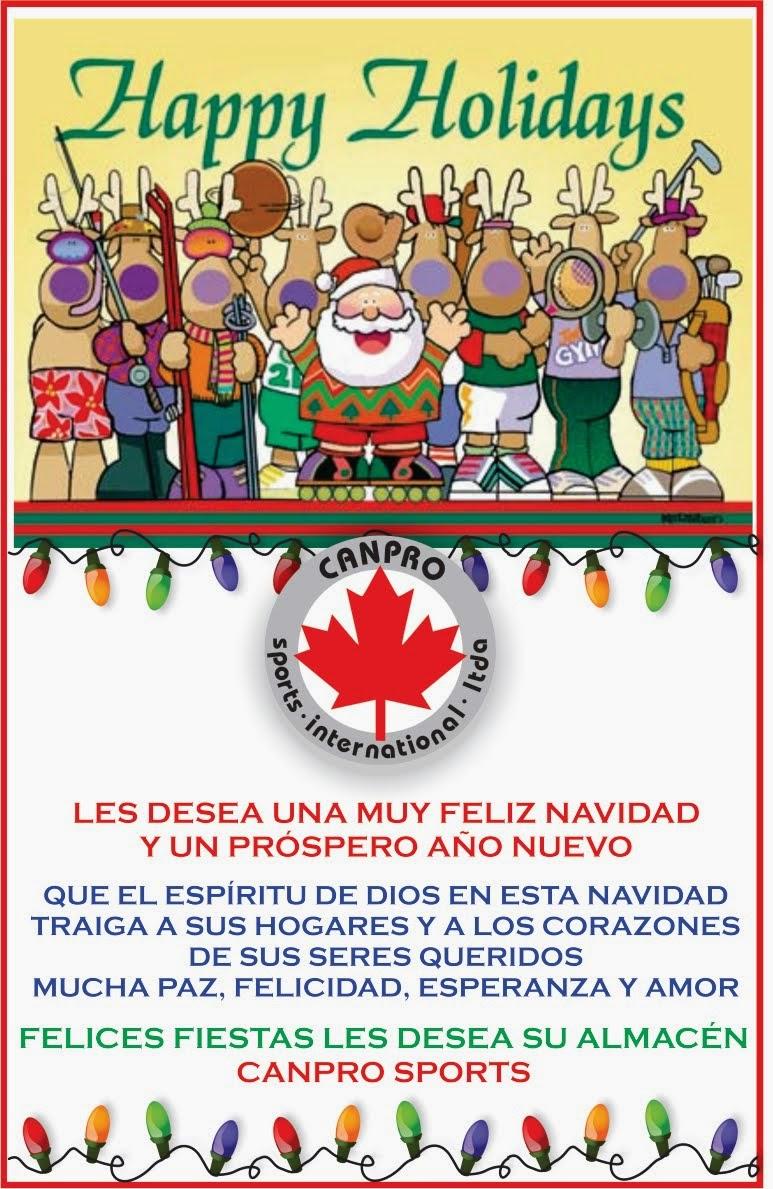 FELIZ NAVIDAD Y PROPSERO AÑO 2015!