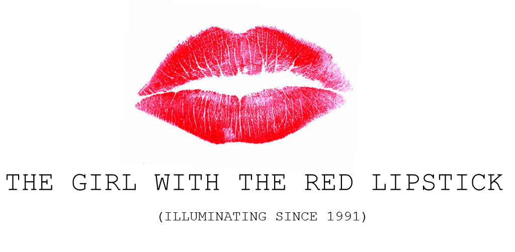 The girl with the red lipstick