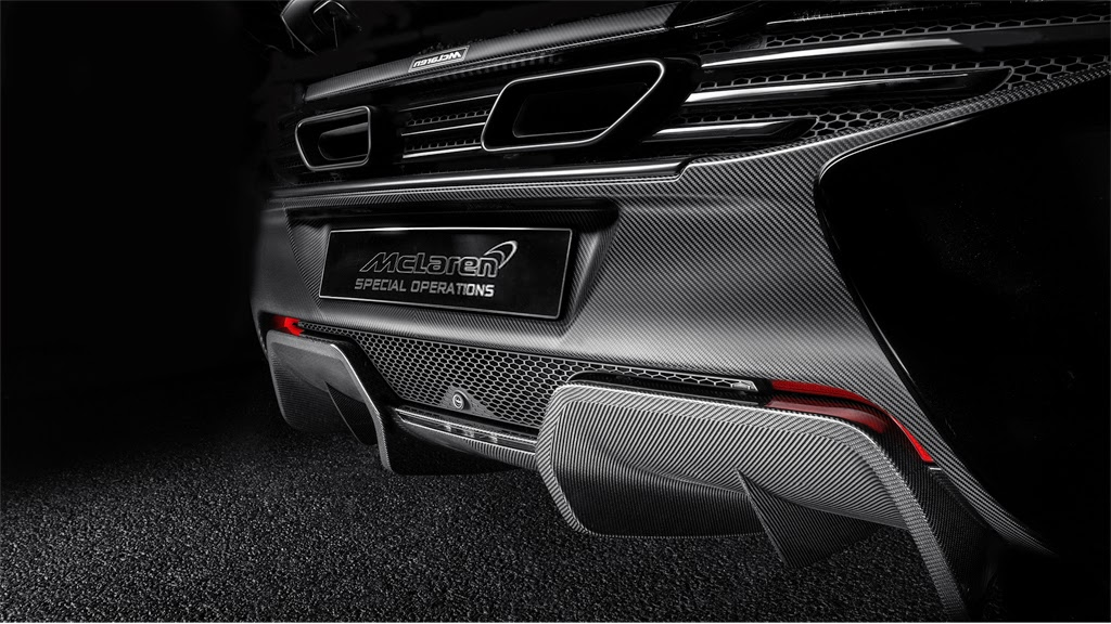 McLaren MSO 650S Coupe Rear Diffuser