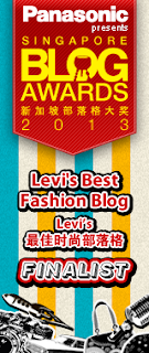 SINGAPORE BLOG AWARDS  - FINALIST