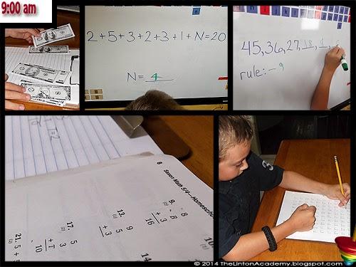 9:00 am - Saxon Math