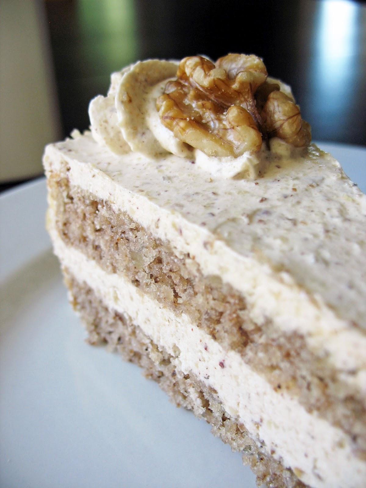 Croatian Walnut Cake Recipe
