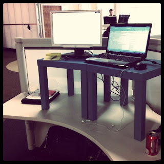 Standup Desk Experiment