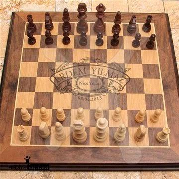 ahşap satranç