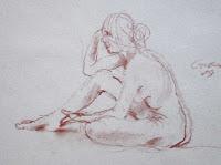 donna nuda, ragazza nuda, nude girl, woman, studio di nuda