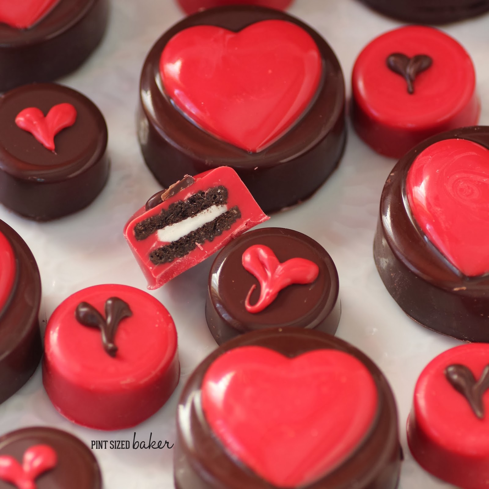 Chocolate Covered Oreo S For Valentine S Day Pint Sized Baker