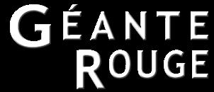 Logo du fanzine Géante Rouge