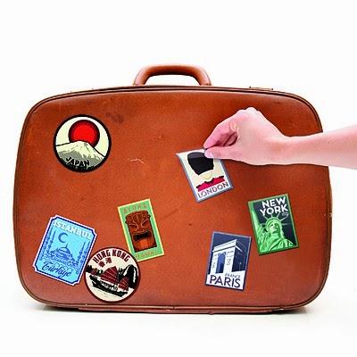 Pegatinas de Viajes para Maletas
