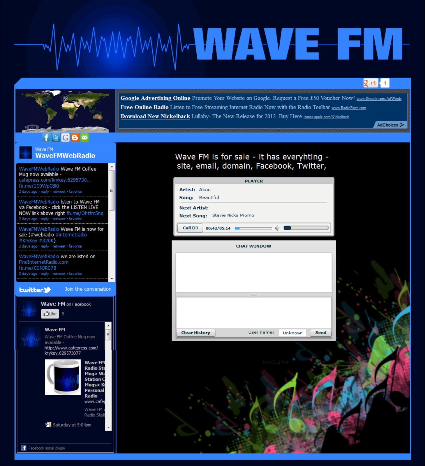 Internet radio stations: a selection of sites
