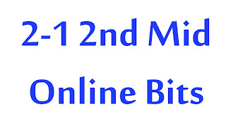 Jntuk 2-1 2nd Mid Online BIts of All Branches ( ECE, EEE, ECM, CSE , IT,MECH...)