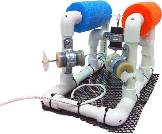 Sea Perch ROV design