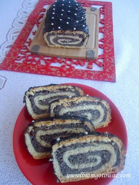 Zawijak z makiem (Zawijany makowiec w kruche ciasto)