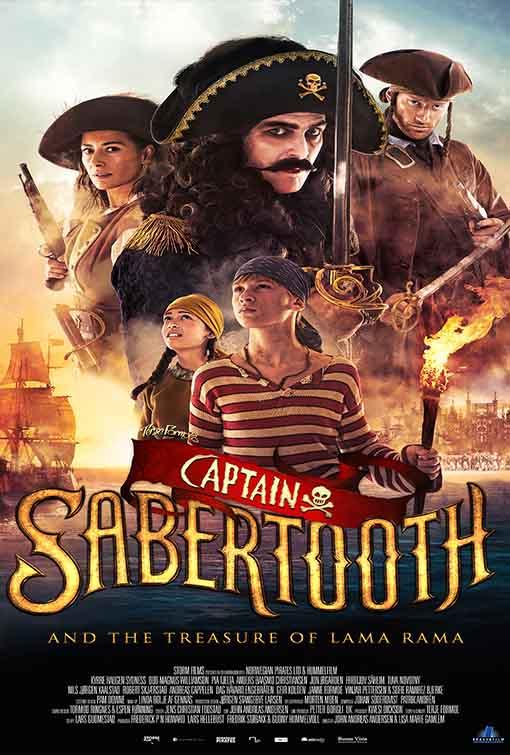 Thuyền Trưởng Răng Kiếm Và Kho Báu Của Rama Full HD Vietsub - Captain Sabertooth and the Treasure of Lama Rama