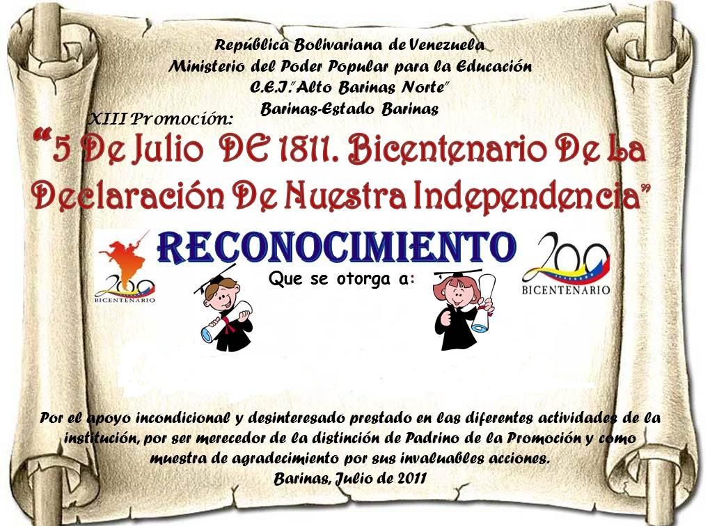 Diploma De Escuela Dominical