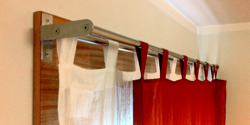 IKEA Double Curtain Rod