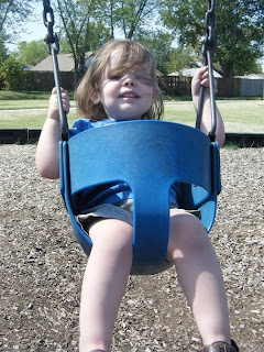 Sasha on swing #2