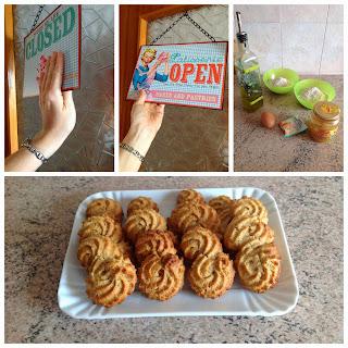 biscotti alla farina di farro integrale alla moda di mammazan