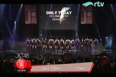 Lirik Lagu JKT48 : Only Today