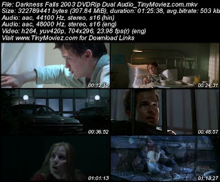 Darkness Falls 2003 DVDRip Dual Audio 300MB
