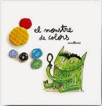 portada Llibre infantil El monstre de colors