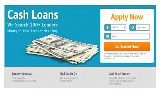 Pay Day Cash Loans
