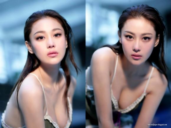 Girls Beauty Wallpaper Zhang Xinyu 48