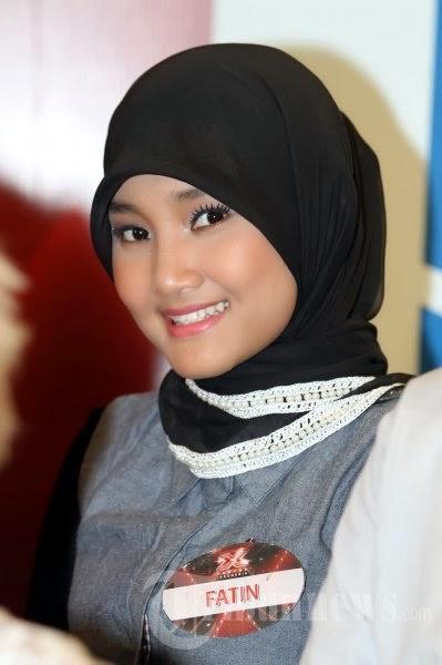 Foto Model  Rambut Fatin Shidqia
