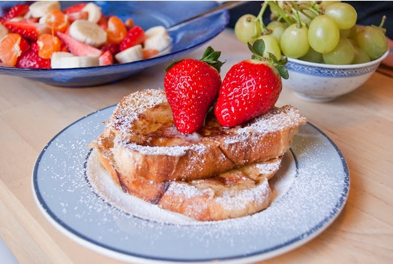Cinnamon brioche French toast (TNT) French+toast