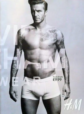 David Beckham Hot & Sexy pour H&M
