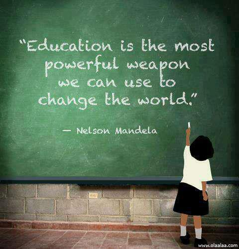 Education Quotes By : Nelson Mandela