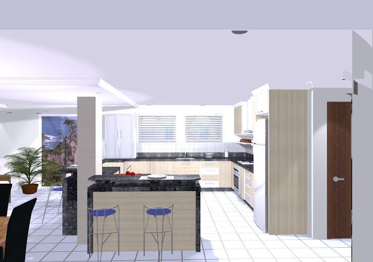 projeto residencial em andamento