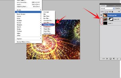 Efek Speed Lighting di Photoshop