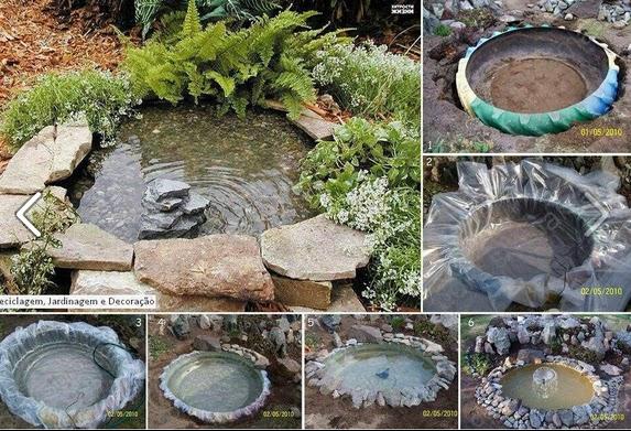 Lorena como hacer una fuente para jardin - Como hacer una fuente de jardin ...