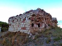 Les parets sud i oest de la Torre Griminella