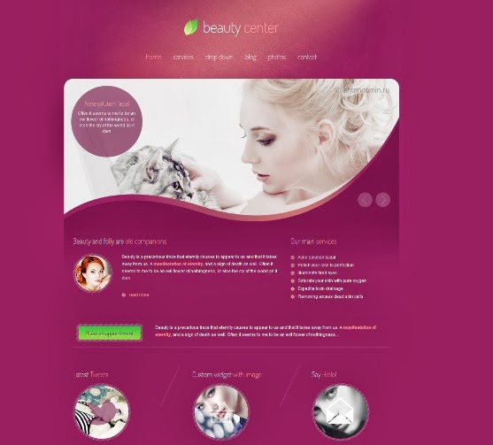 Beauty Center Responsive WordPress Theme