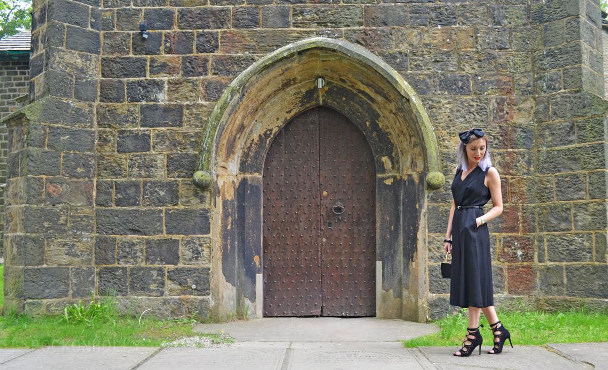 Wear Black to A Wedding - M&Co Jumpsuit
