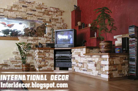 Interior Design 2014 Interior stone wall tiles designs ideas