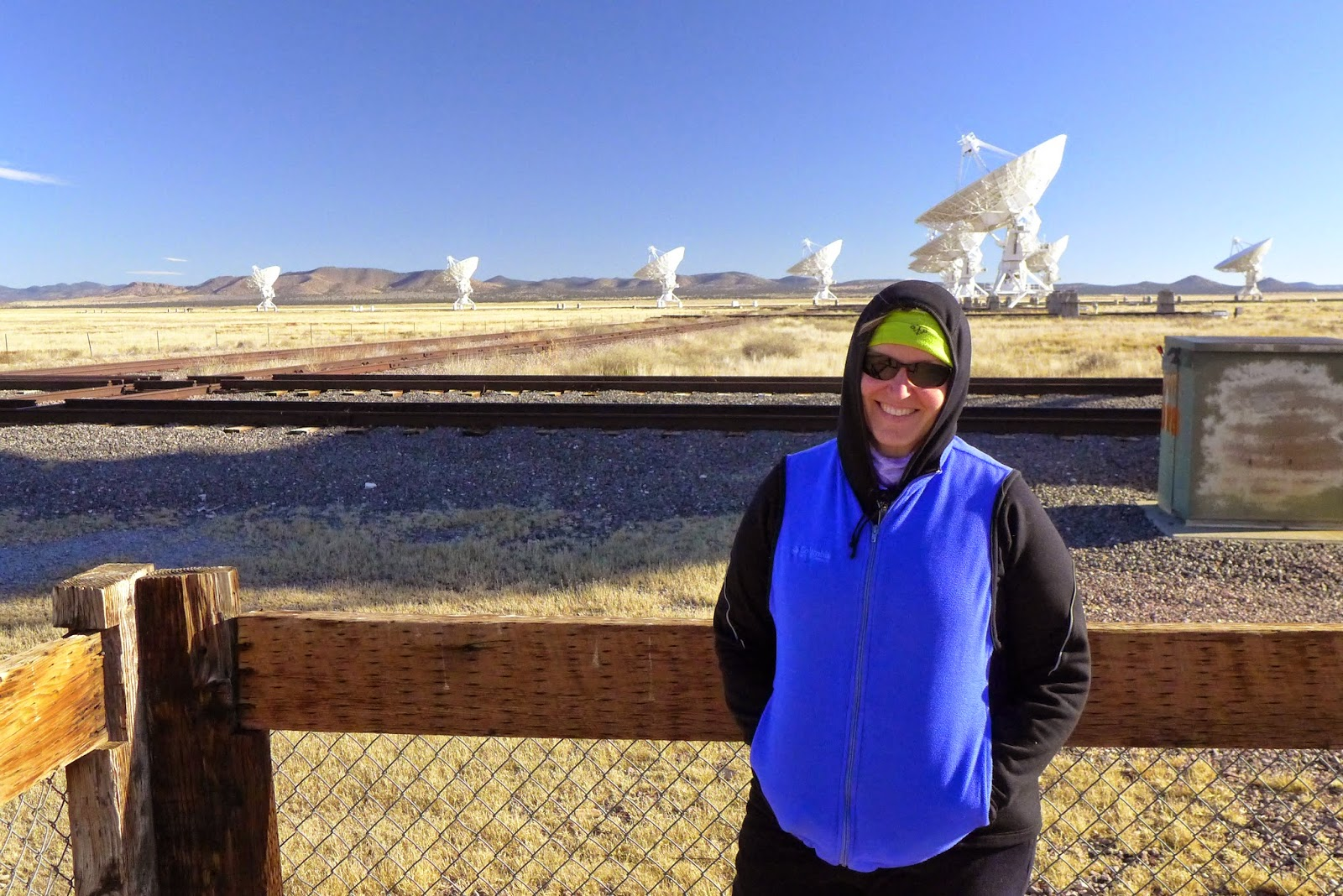 Where In The West Are Garneys November 2014 Facts About Very Large Array If You Have Seen Movie Contact Jodi Foster One Of Them Even Moved While We Were Standing There