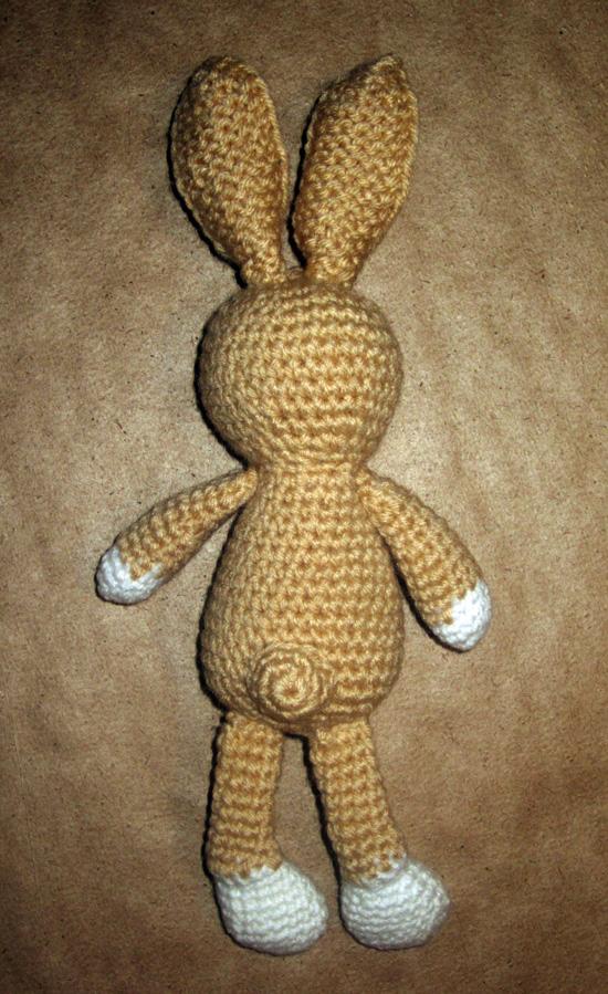 игрушка для фотосессии, заячий хвостик, зайчишка