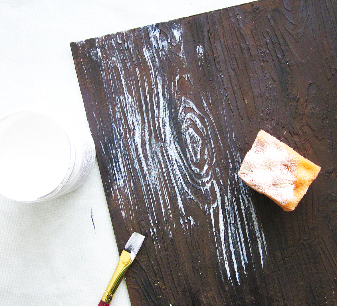 Имитация дерева своими руками мастер класс
