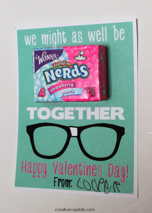 Capital B Might As Well Be Nerds Together Valentines