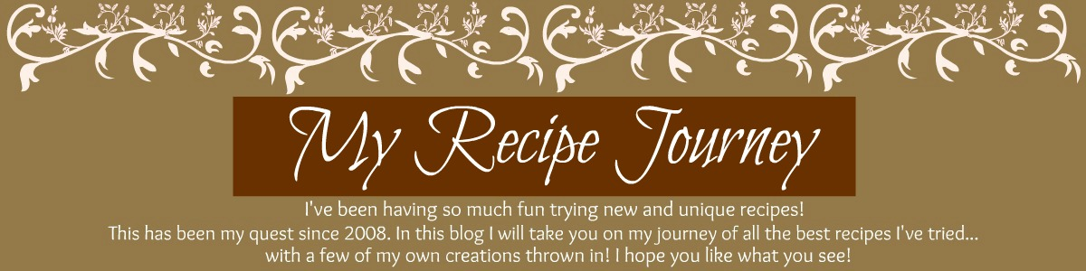 My Recipe Journey