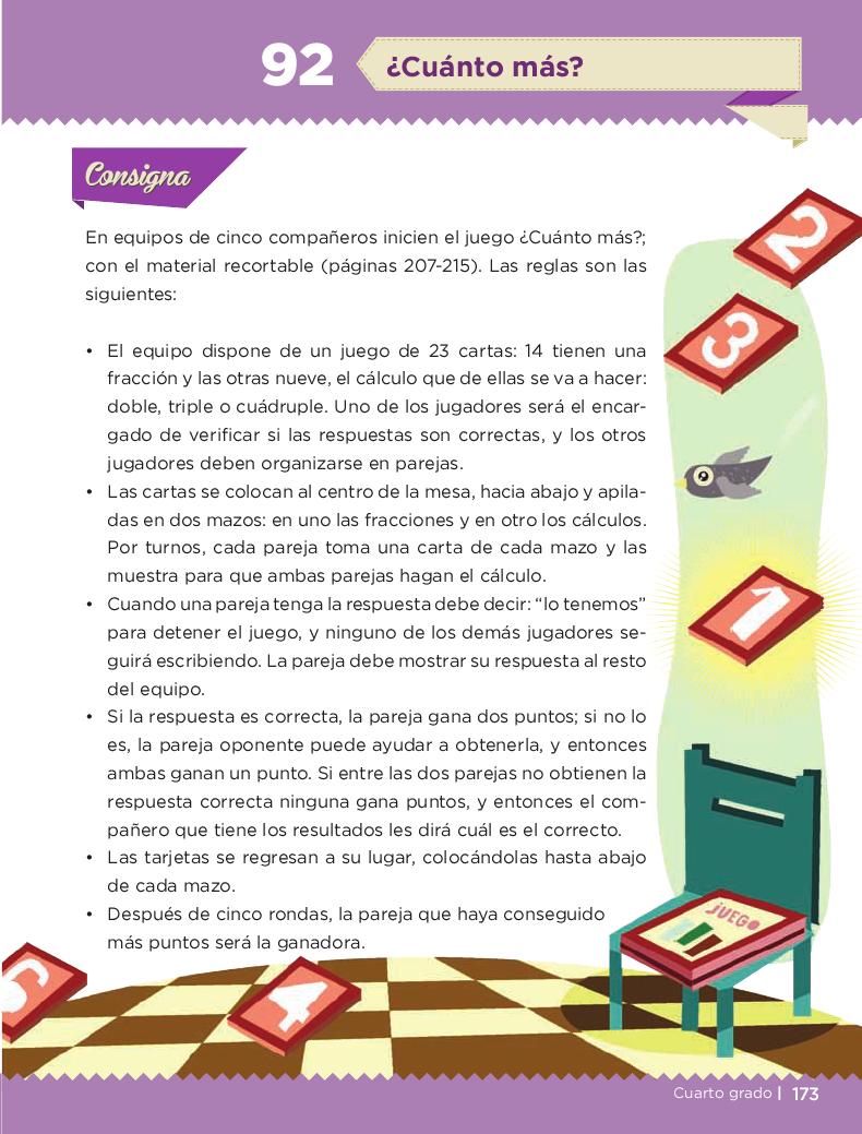 ¿Cuánto más? - Desafios matemáticos 4to Bloque 5 2014-2015
