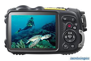 Kamera Fujifilm. Seri FinePix XP200 yang tahan air