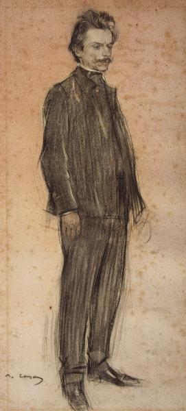 Retrat d'Enric Morera (Ramon Casas)