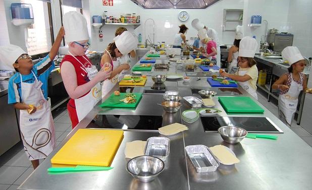 Pisando charcos el chef de la casa for Taller de cocina teruel