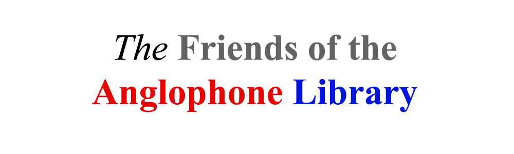 Friends of the Anglophone Library